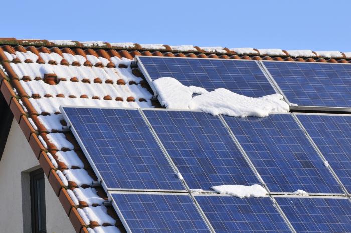 Солнечные панели смогут вырабатывать электричество используя снег